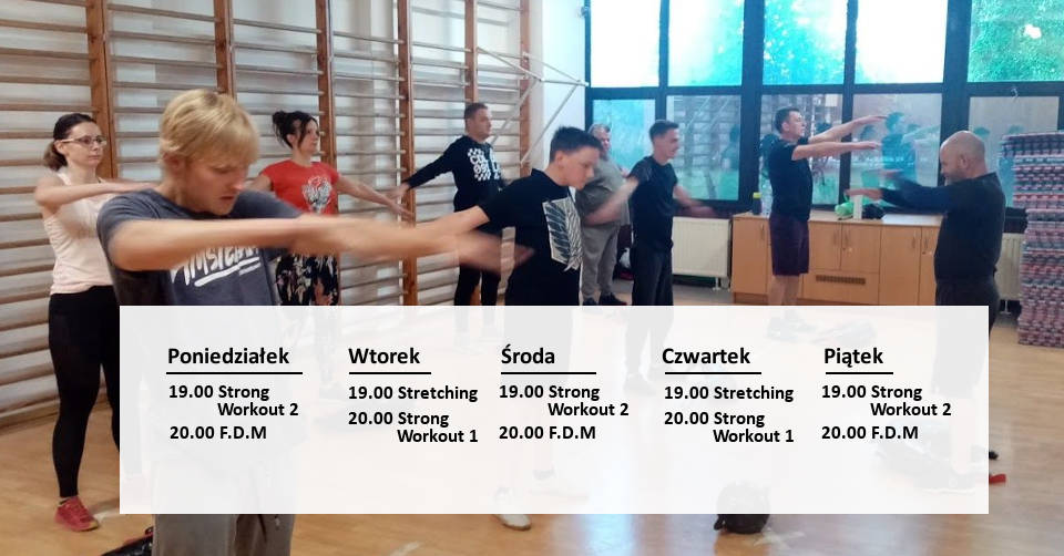 Harmonogram treningów 2020/2021!